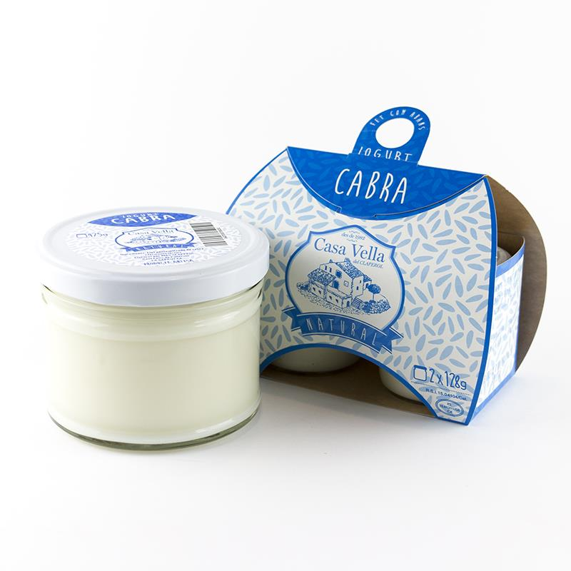 YOGURT NATURAL DE CABRA | 28